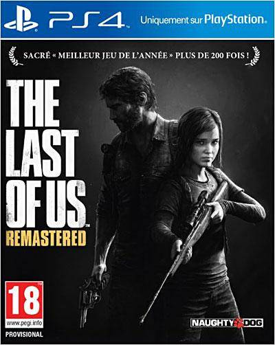 sony The Last of Us Remastered PS4