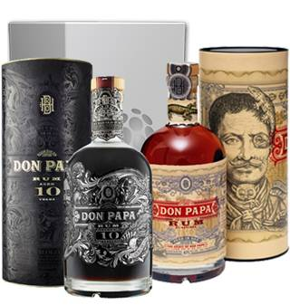 Don Papa Coffret Rhums Don Papa 7ans et 10ans