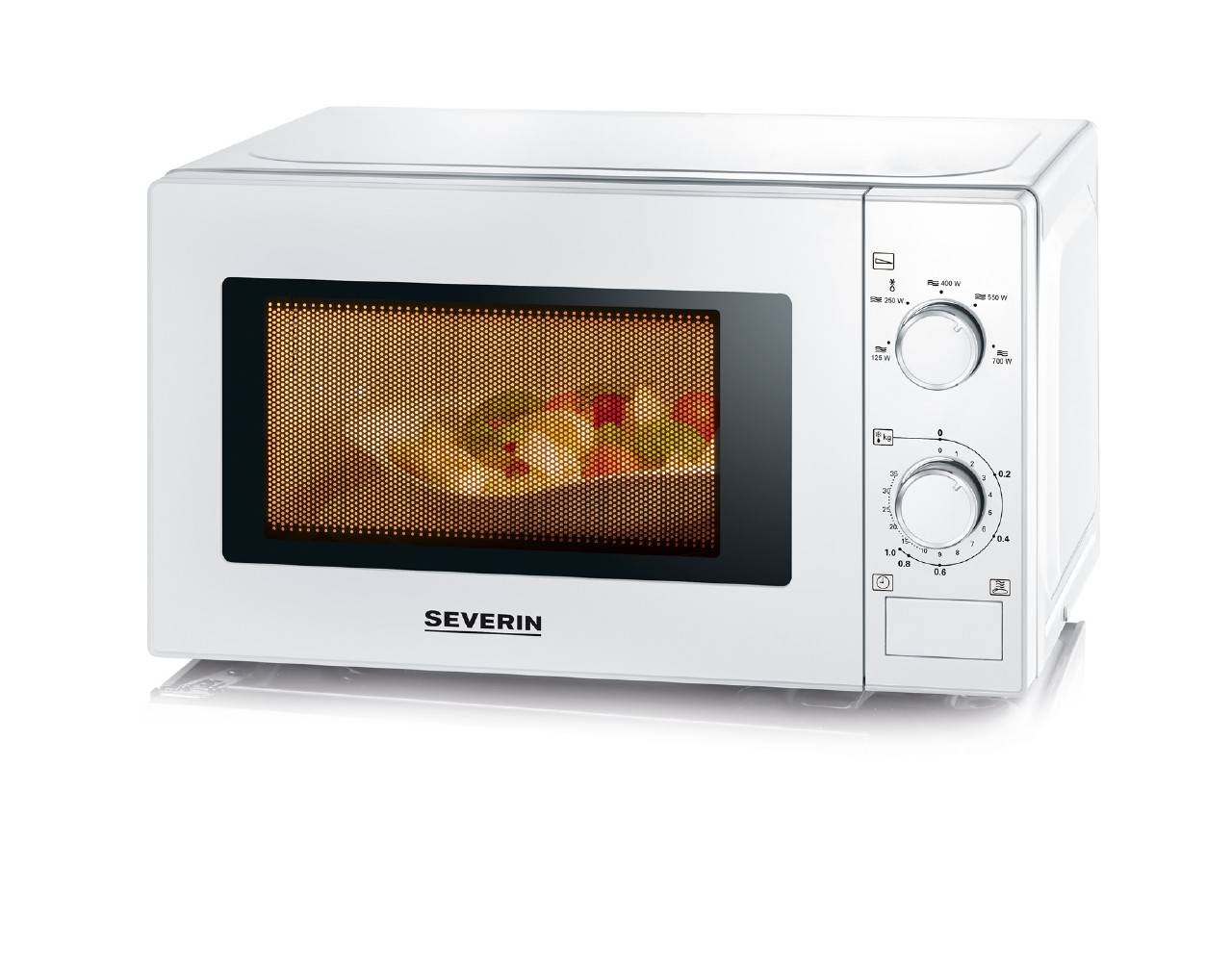 Severin FOUR A MICRO-ONDES GRIL, BLANC, 700 W, 20  Severin