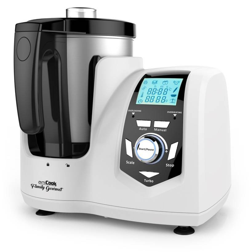 AmiCook Robot cuiseur multifonctions AMICOOK Family Gourmet