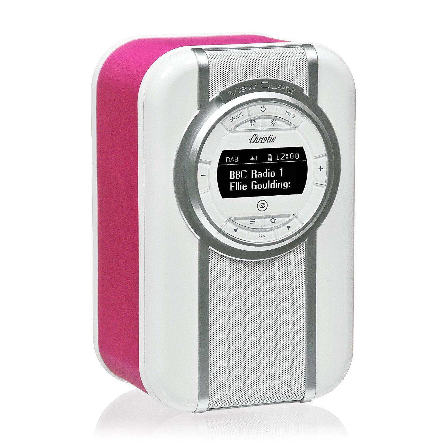VIEW QUEST Radio rétro DAB+ Bluetooth View Quest Christie Pink Rose