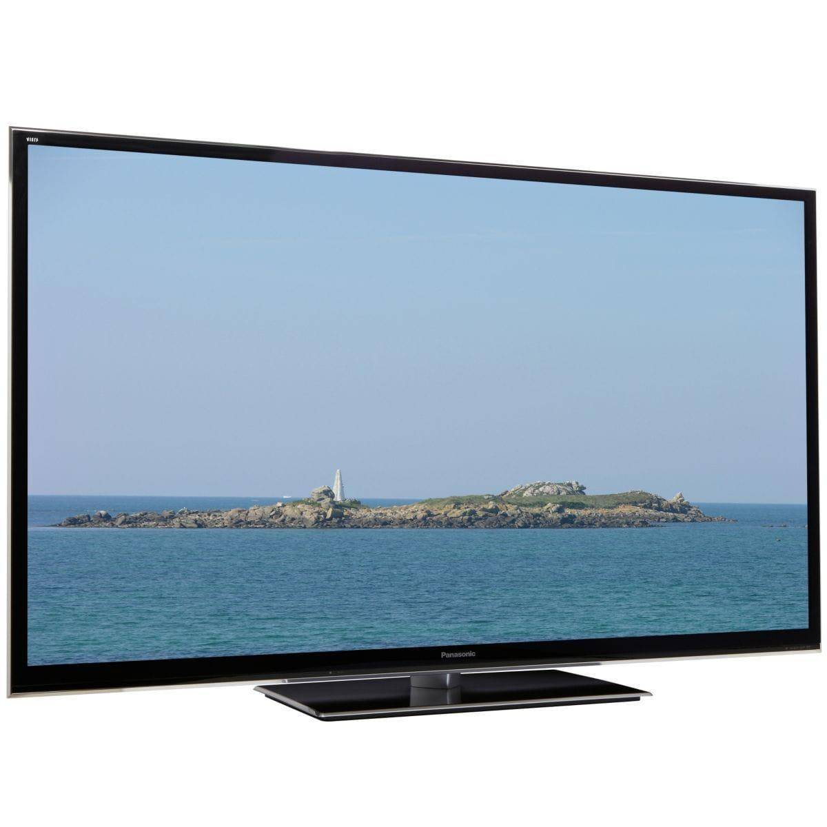 PANASONIC Smart TV Plasma 3D Full HD 165 cm PANASONIC TX-P65VT50E Reconditionné à neuf