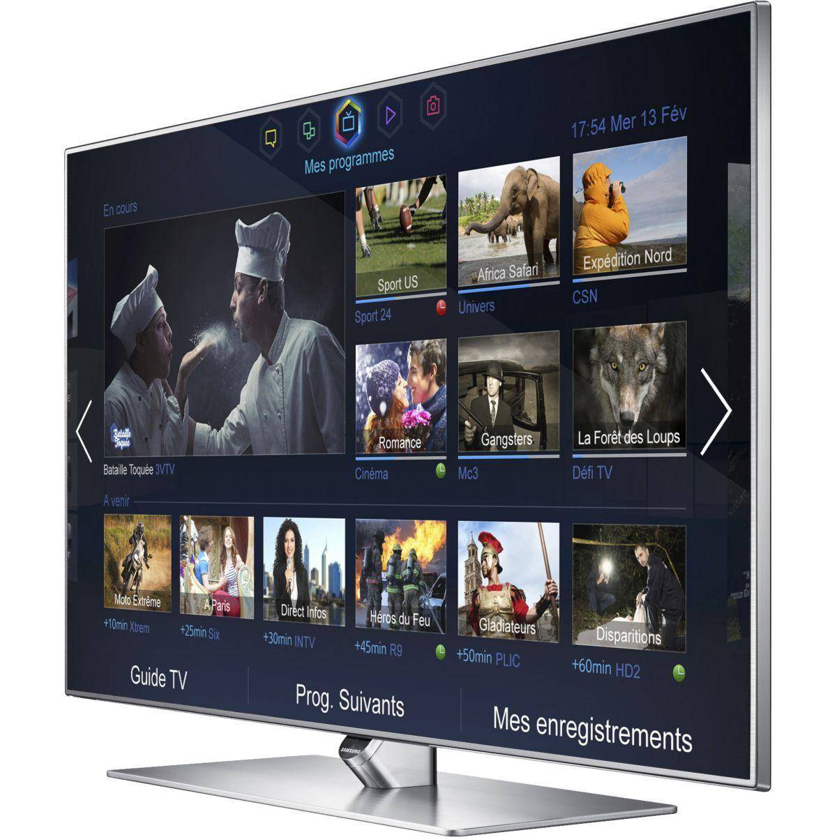 Samsung Smart TV LED 3D Full HD 102 cm Samsung UE40F7000SLXZF Reconditionné à neuf