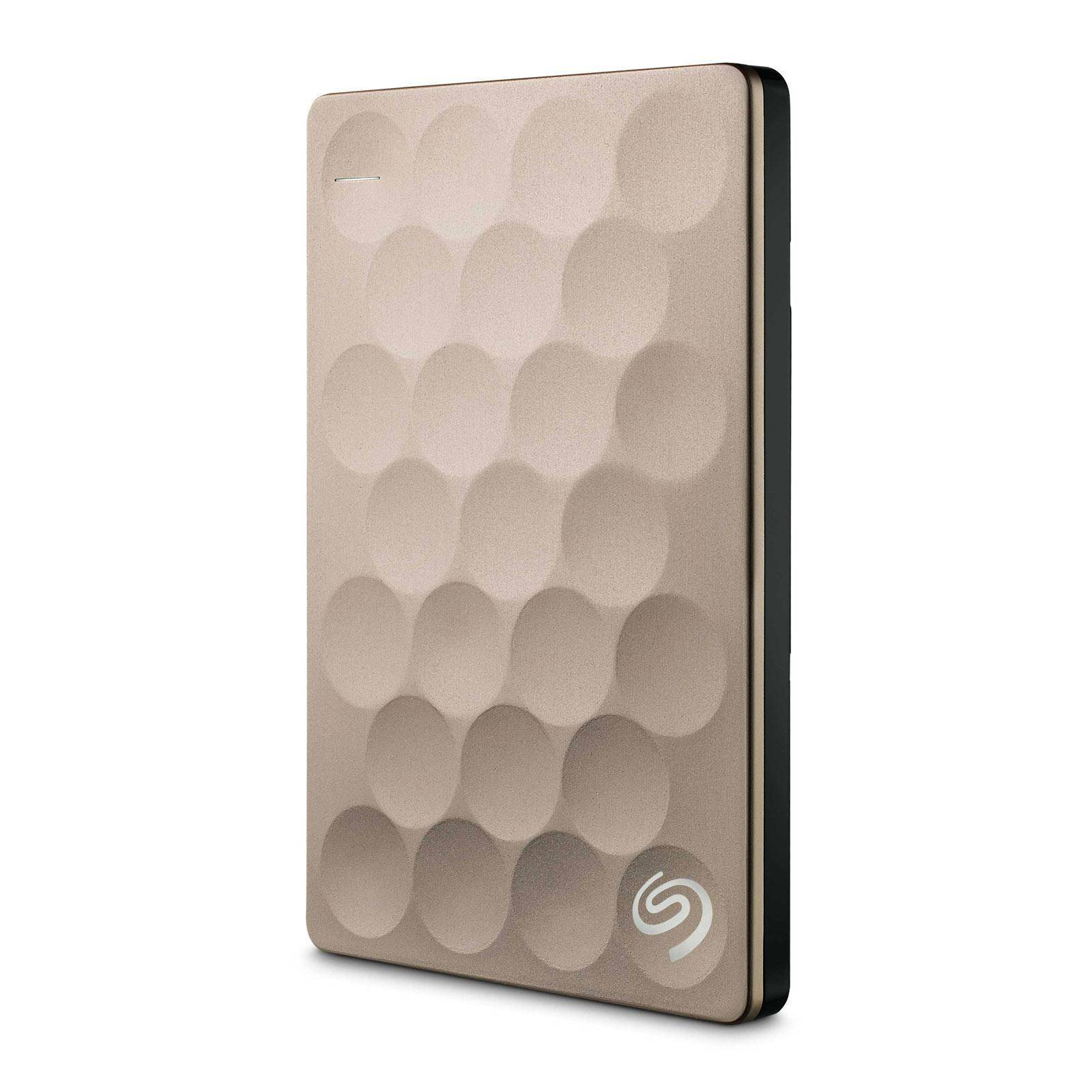 SEAGATE Disque dur externe 2,5'' 1 To USB 3.0 Seagate Backup Plus Ultra Slim Or