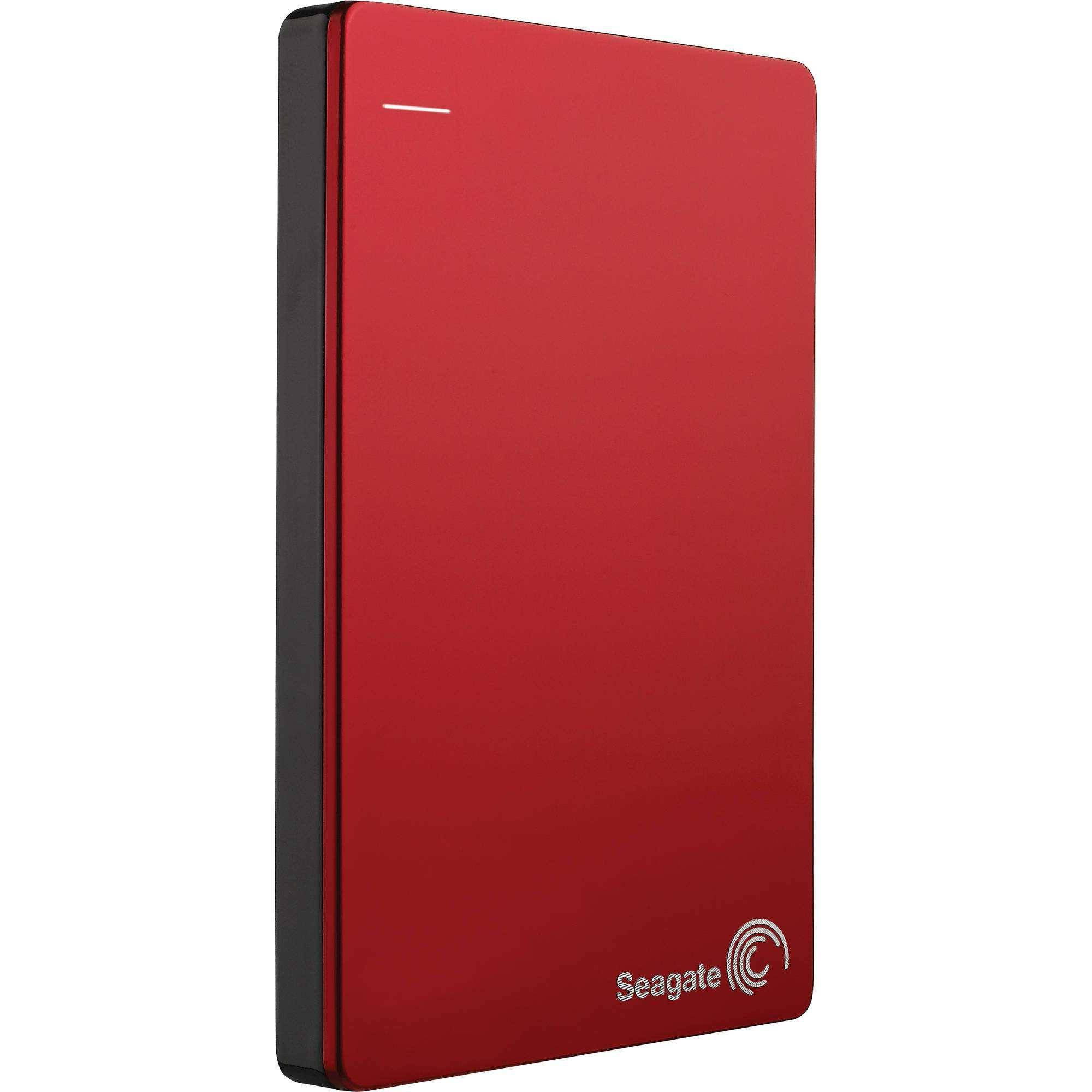 SEAGATE Disque dur externe 2,5'' 1 To USB 3.0 Seagate Backup Plus Slim STCD500102 Rouge