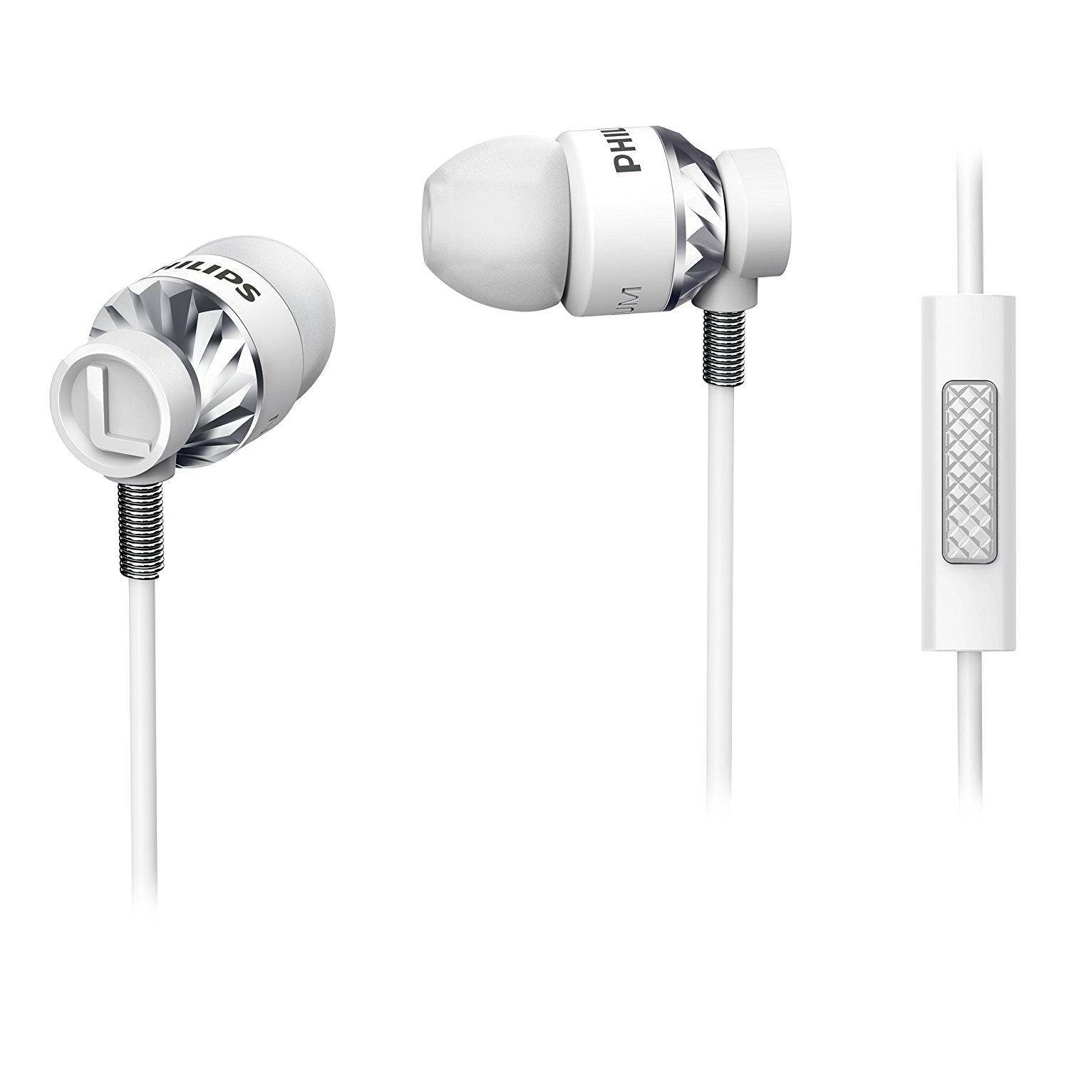 Philips Ecouteurs intra-auriculaires avec micro Philips SHE5305WT/00