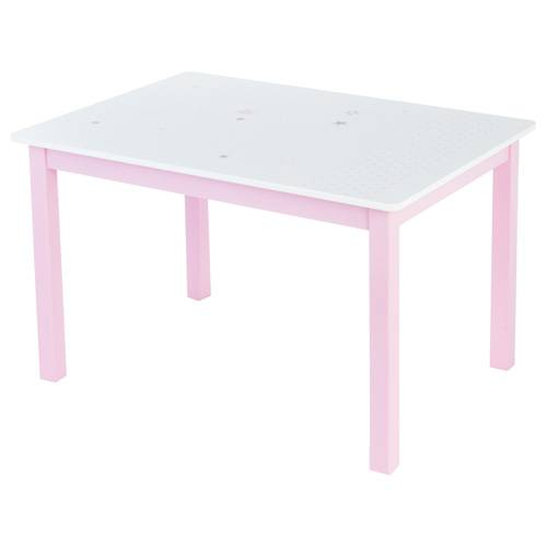 Atmosphera Kids Table Enfant - 77 x 55 cm. - Rose