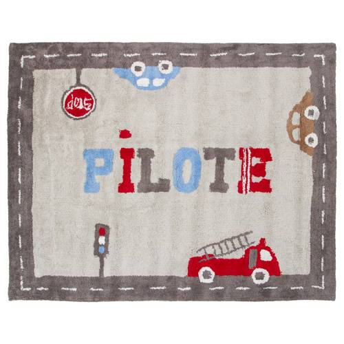 Atmosphera Kids Tapis Pilote - 133 x 100 cm.