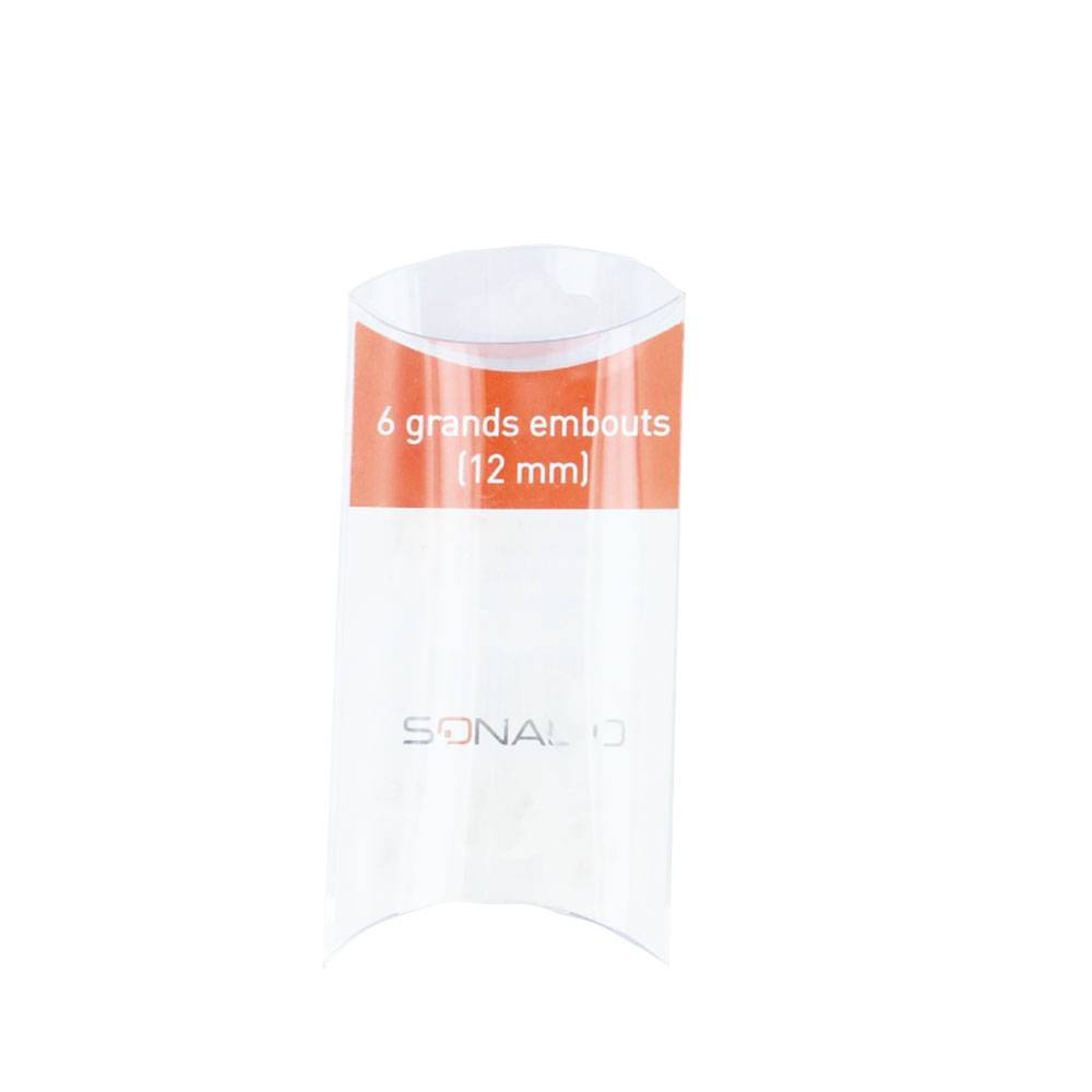 SONALTO PACK 6 GRANDS EMBOUTS 12MM