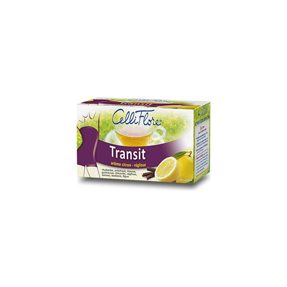 CELLIFLORE INFUSION TRANSIT 20 SACHETS