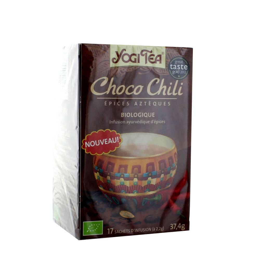 YOGI TEA INFUSION CHOCO CHILI 17 SACHETS