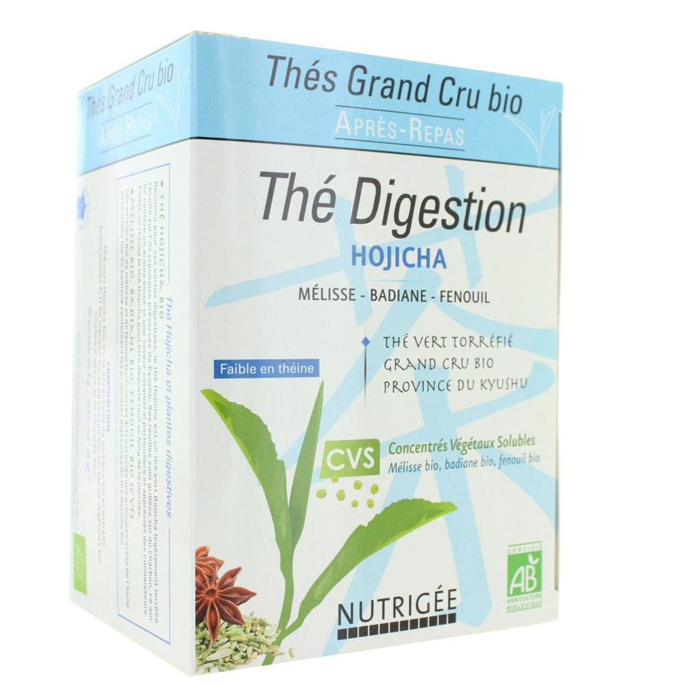 NUTRIGÉE NUTRIGEE THE DIGESTION BIO 30 SACHETS