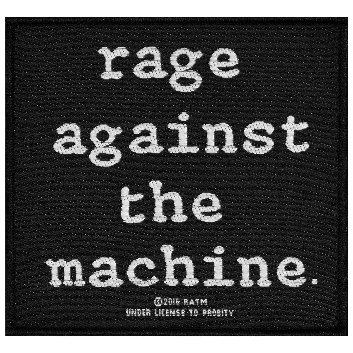 Rage Against the Machine Patch Rage Against The Machine - Logo