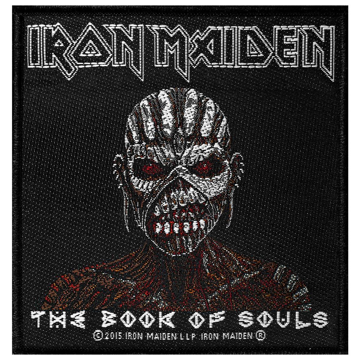 Iron Maiden Patch Iron Maiden - The Book Of Souls