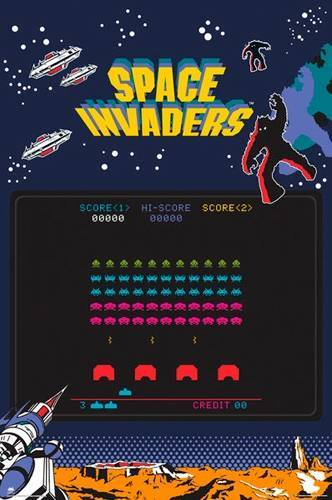 Space Invaders Poster Space Invaders - Screen