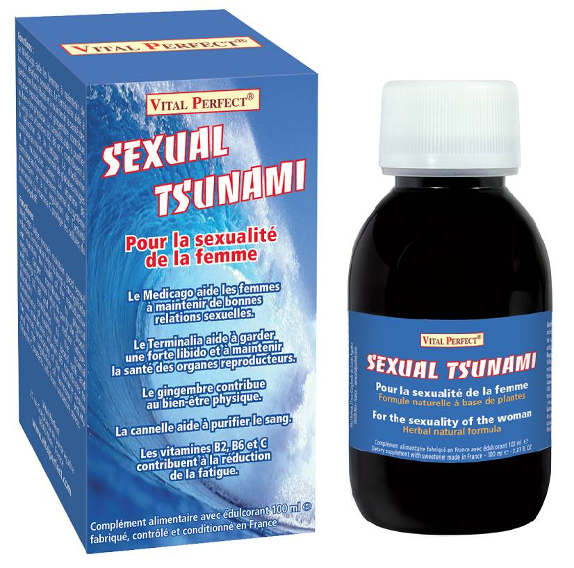 Vital Perfect Sexual Tsunami stimulant sexuel pour femme liquide par Vital Perfect