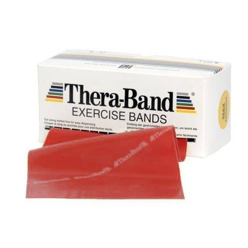Patterson Bandes d'exercices sans latex Thera-Band® - Rouge - 25 m