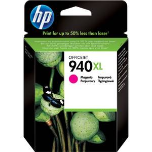 HP Cartouche d'impression Magenta XL pour imprimante HP Officejet OJ 8500A eAio 2011 - C4908AE
