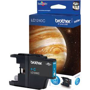 BROTHER Encre Brother Cyan pour DCP J525W/J725DW/J925DW MFC J430W/J5910DW/J625DW/J6510DW/ J6710DW/J691DW/J825DW pour imprimante BROTHER DCP-J525W - LC1240C