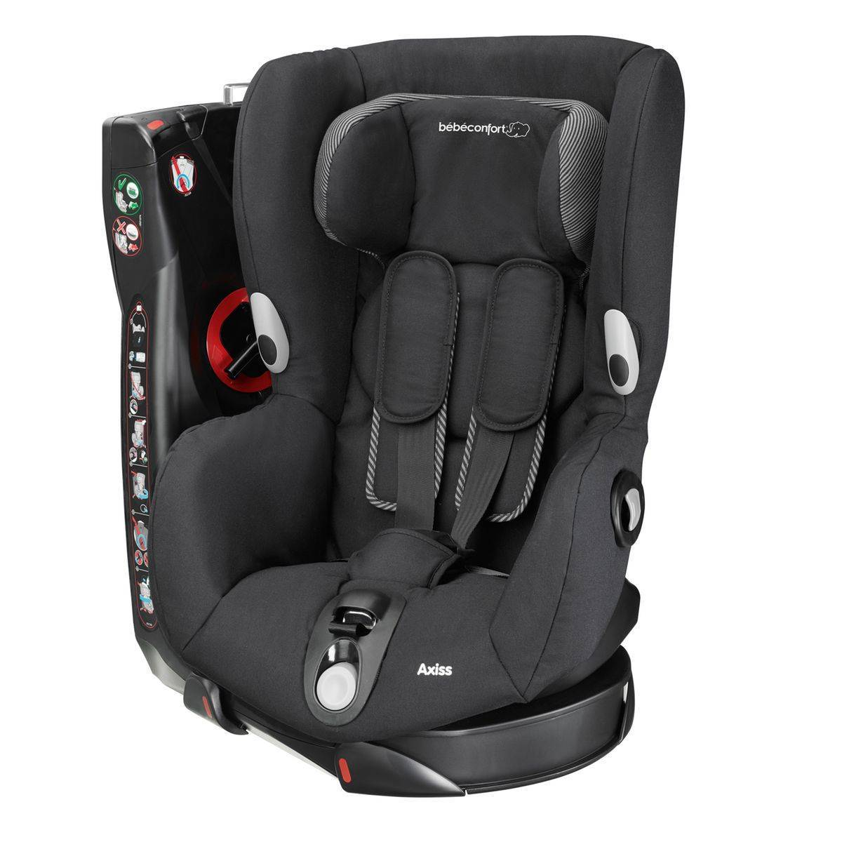 BEBE CONFORT Siège Auto Axiss col. noir Groupe1 - BEBE CONFORT