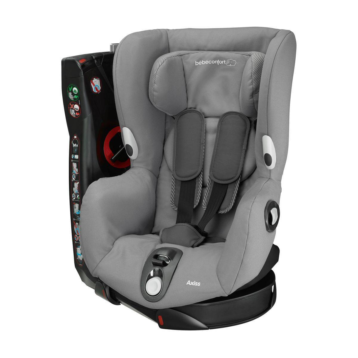 BEBE CONFORT Siège Auto Axiss col. gris Groupe1 - BEBE CONFORT