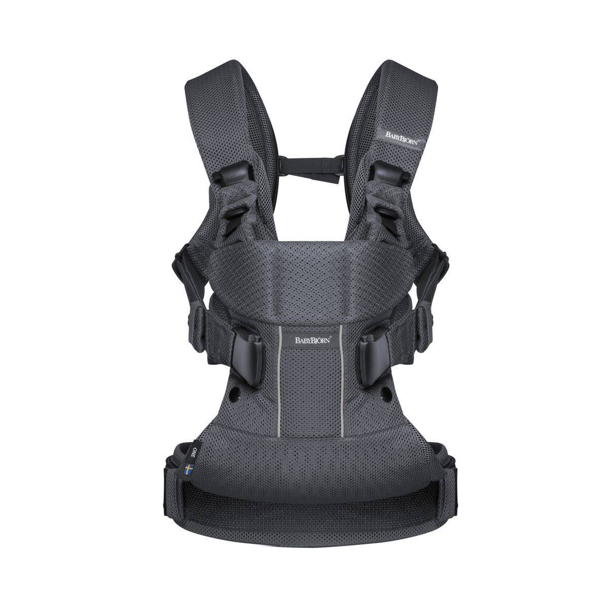 BABYBJORN Porte-bébé Carrier One Air anthracite - BABYBJORN