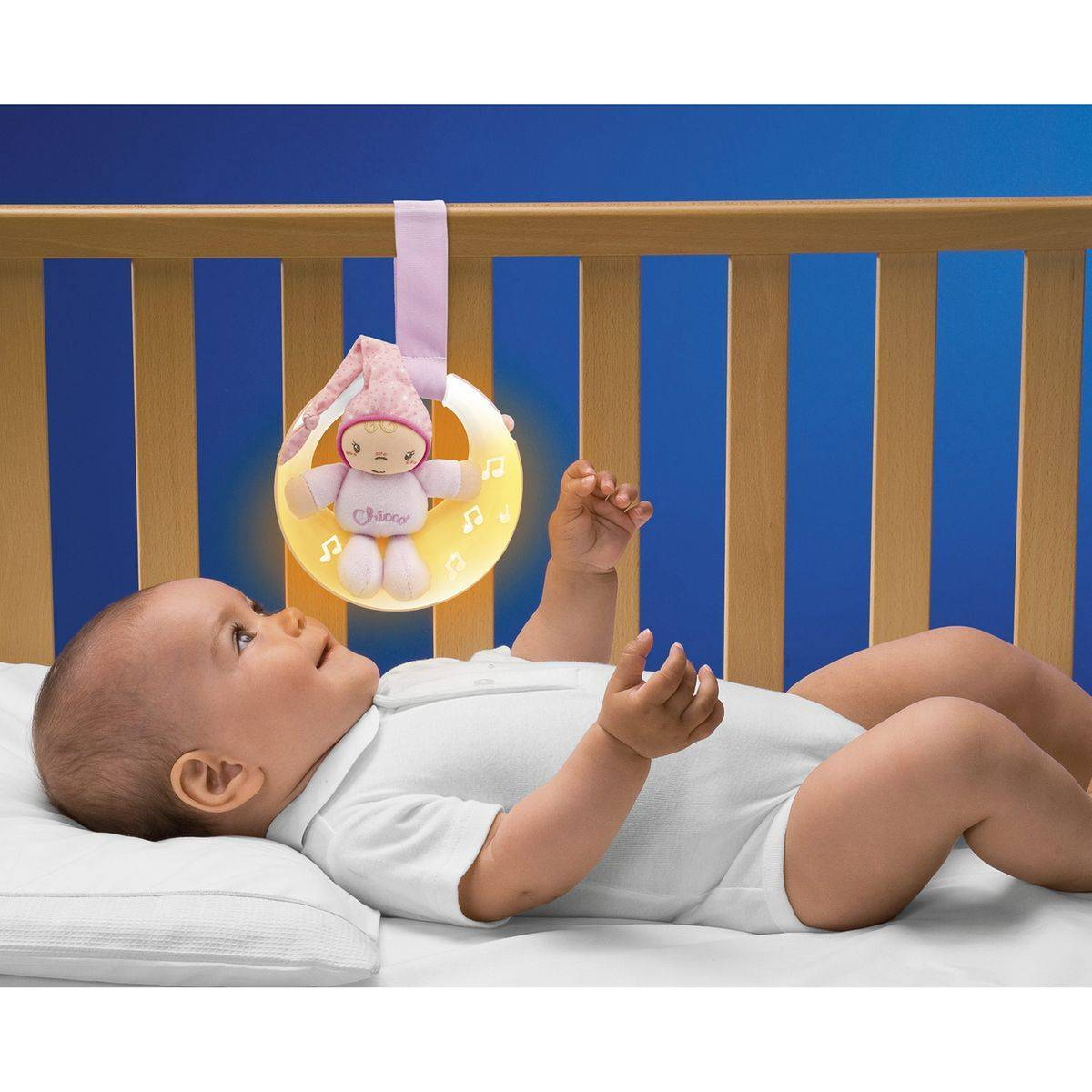 Chicco Veilleuse musicale rose - CHICCO
