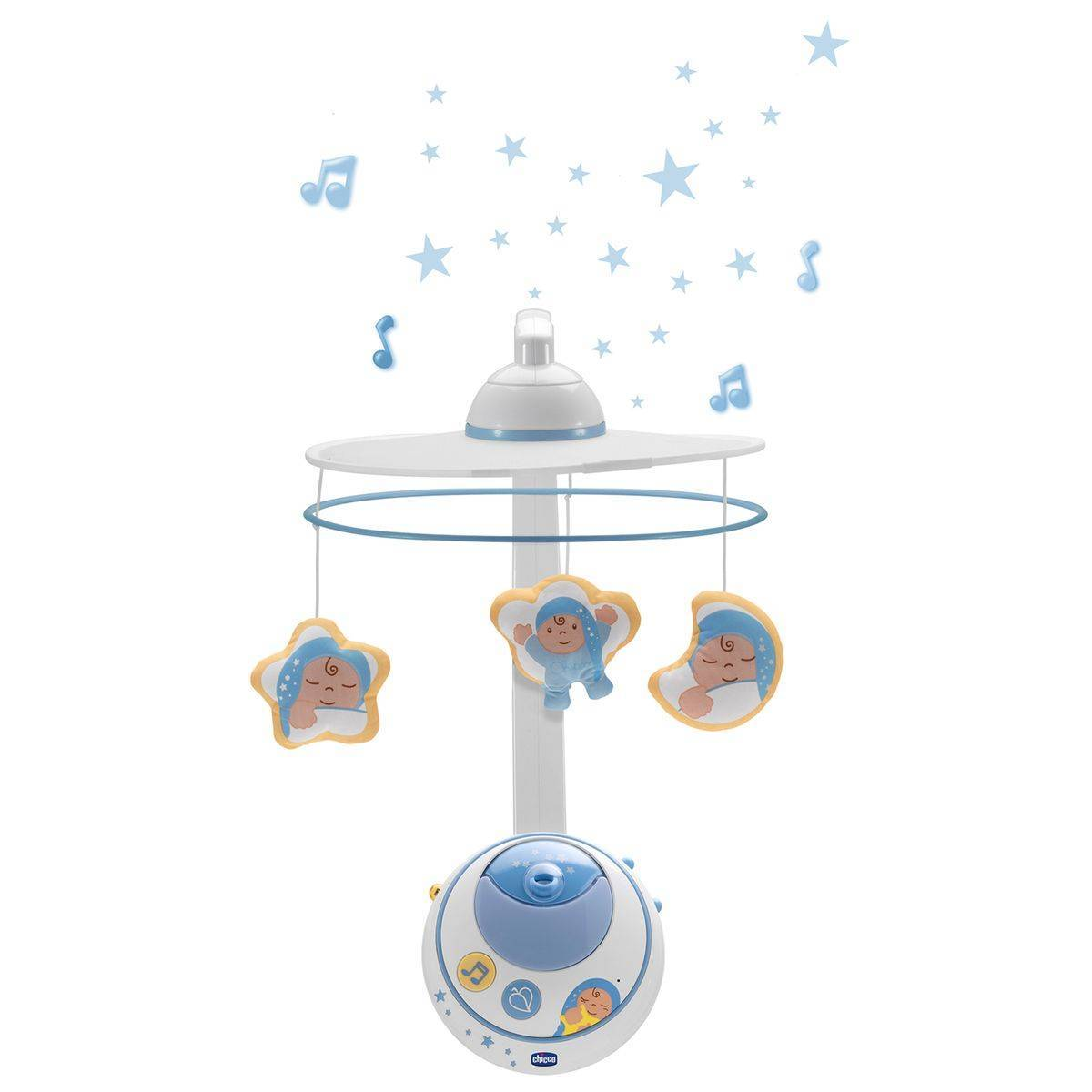 Chicco Mobile des Rêves double projection, bleu - CHICCO
