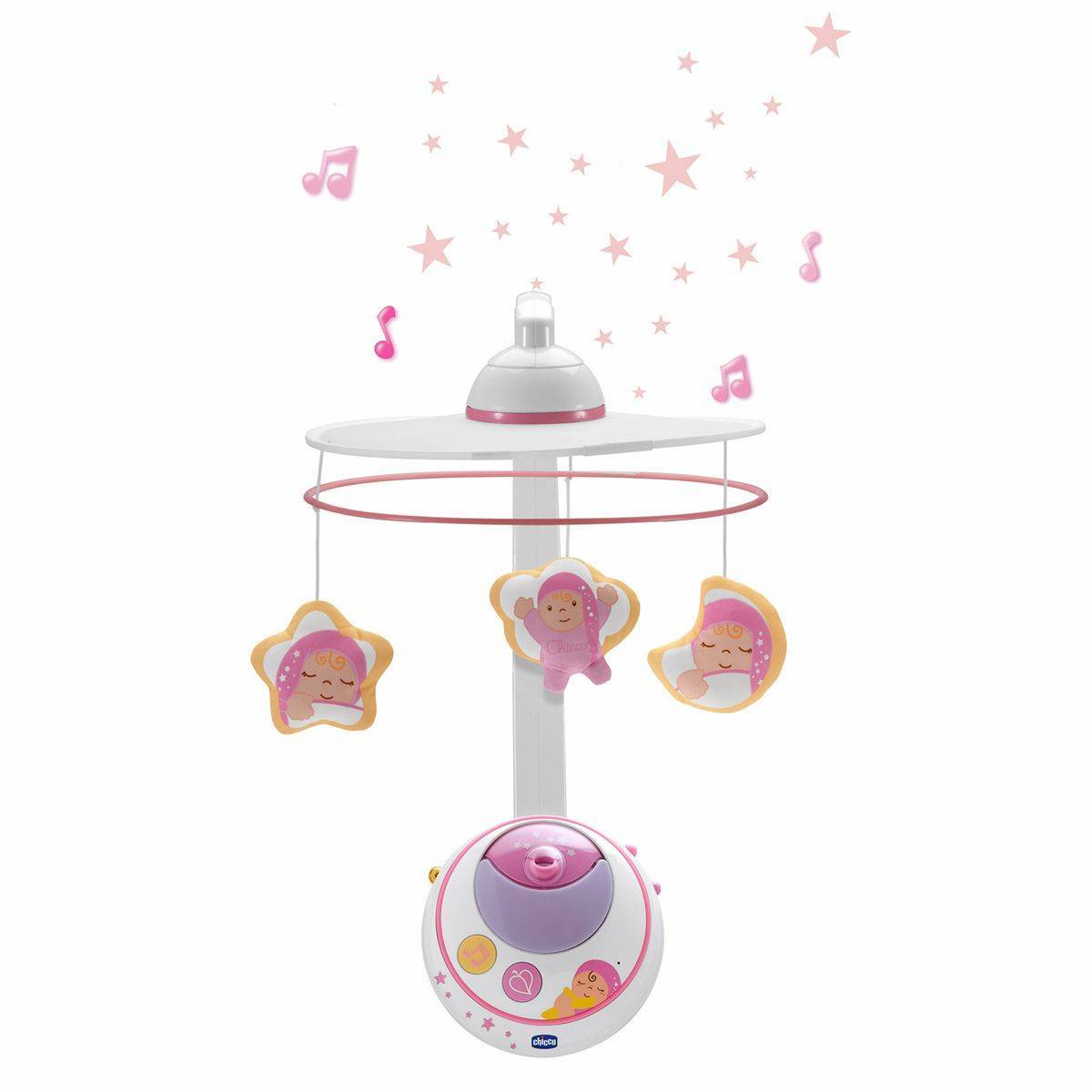Chicco Mobile des Rêves double projection, rose - CHICCO