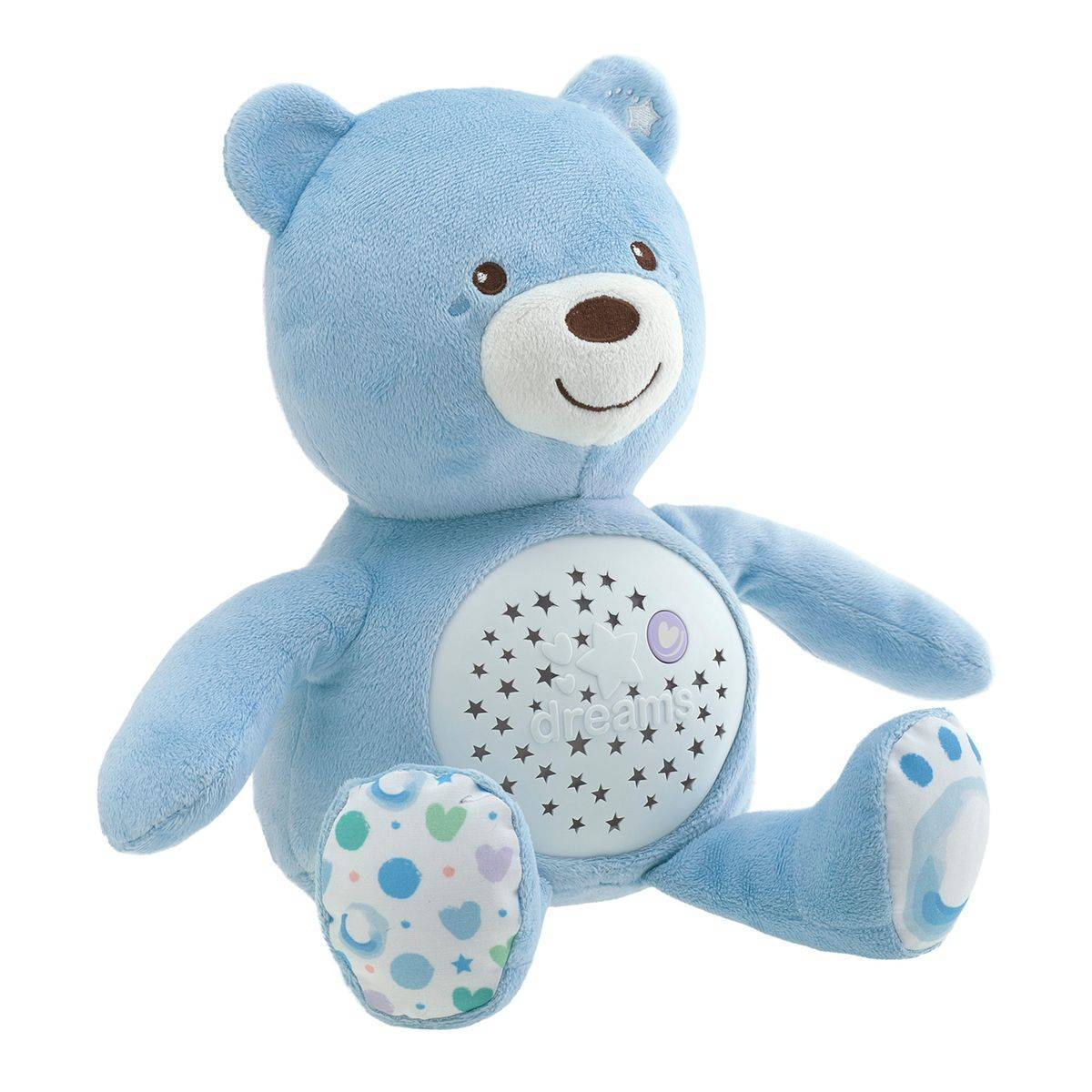 Chicco Ourson projecteur Baby Bear, bleu - CHICCO