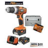 AEG Perceuse visseuse 14.4V +2 batteries+ coffret