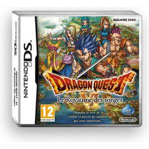 NINTENDO DRAGON QUEST VI LE ROYAUME DES SONGES / Jeu DS