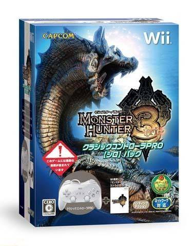Monster Cable Hunter 3 Pack Controller - Import Japon Wii