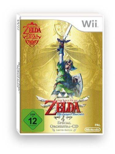 The Legend Of Zelda : Skyward Sword + Symphony Concert Cd - �dition Sp�ciale [Import Allemand] [Jeu Wii] Wii