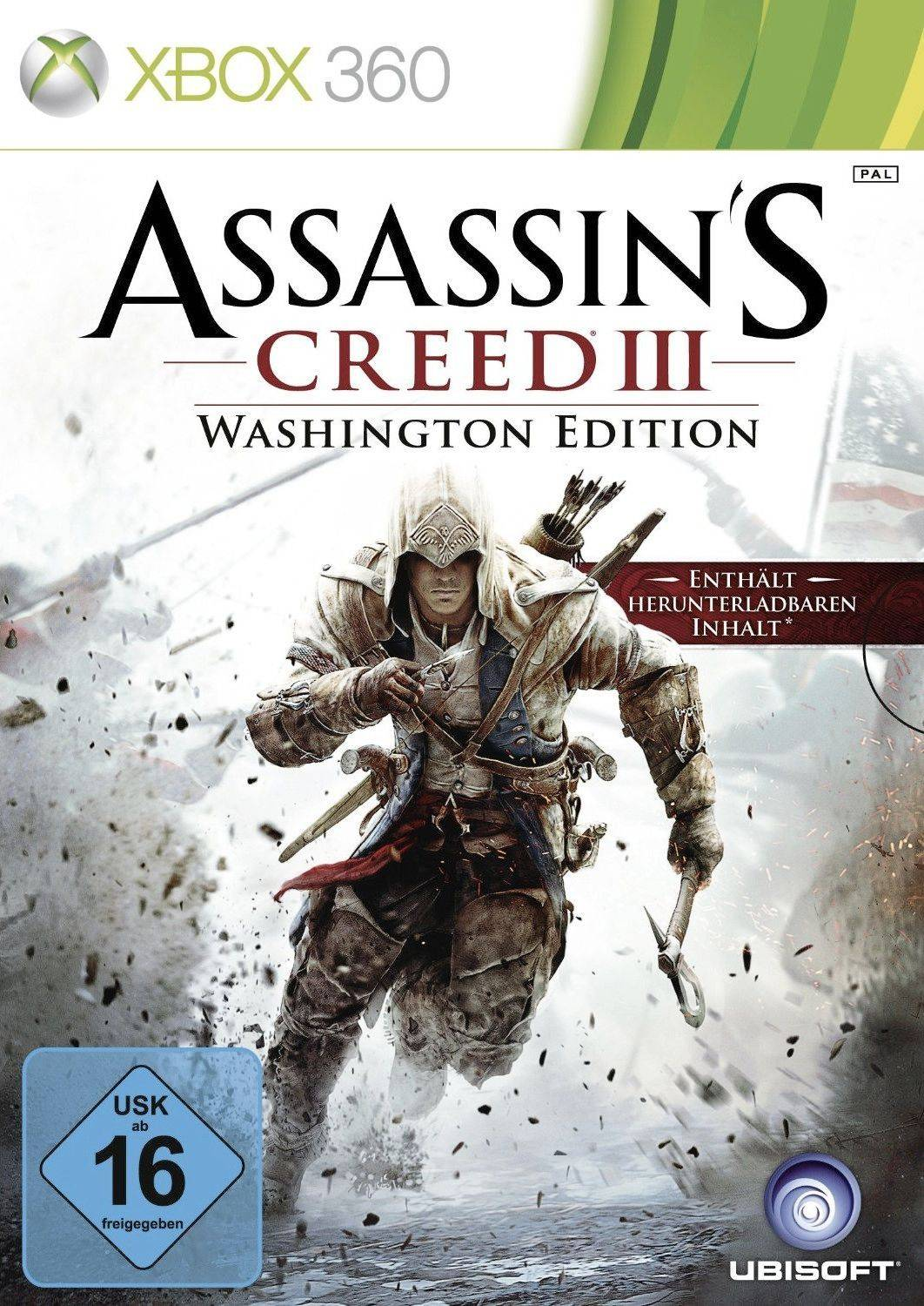 Assassin's Creed 3 Washington Edition XBOX 360