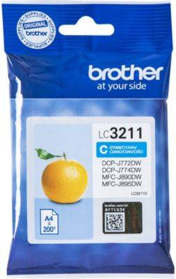 Brother Cartouche d'encre Brother LC3211 Cyan