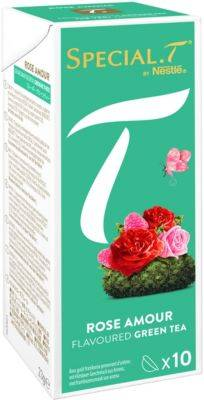 Nestle Capsules Nestle Special.T Thé vert Rose Amour x10