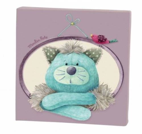 Moulin Roty - Tableau Gros Chacha Les Pachats - 20x20 cm