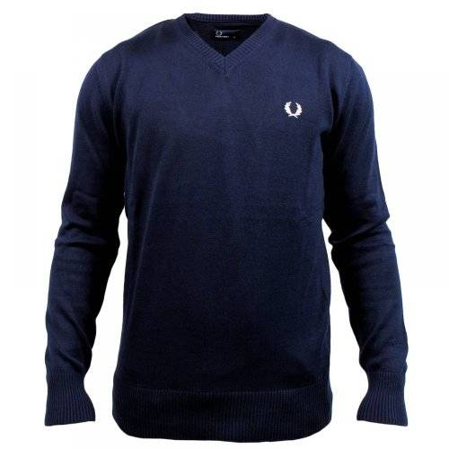 Fred Perry Pull Fred Perry Col V Marine XL