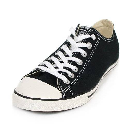 Converse - Noir Chuck Taylor Lean Ox Trainers - Homme - Taille: 42.5
