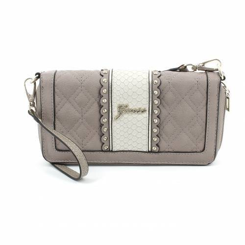 Guess Pochette Miss Social Organizer Taupe