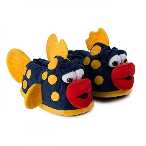 Funslippers , Chaussons pour homme bleu 48 48.5 49 49.5 50