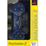 Sony Manette Dual Shock 2 Playstation 2 - Bleu transparent PlayStation2