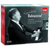 Legendary Rubinstein! Chopin Nocturnes & Mazurkas (3CD)