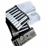 Loftek 61 touches numériques MIDI Roll-Up souple escamotable Educationial 3D clavier de piano