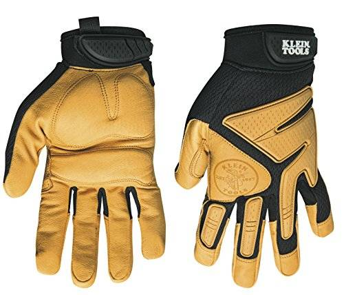 KLEIN TOOLS LEATHER GLOVES X-LARGE