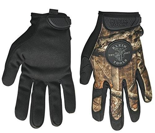 KLEIN TOOLS CAMOUFLAGE GLOVES LARGE