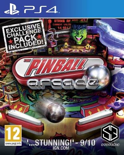 System 3 Pinball Arcade  [import anglais] PlayStation 4