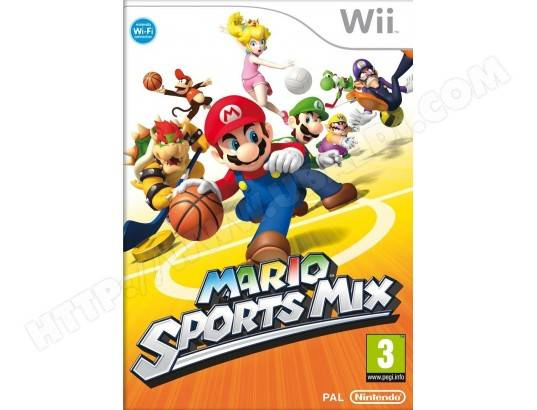 NINTENDO Mario Sports Mix Wii Jeu Wii