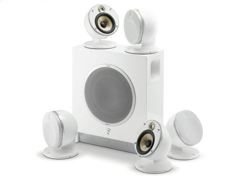 FOCAL Pack DOME FLAX 5.1 Blanc
